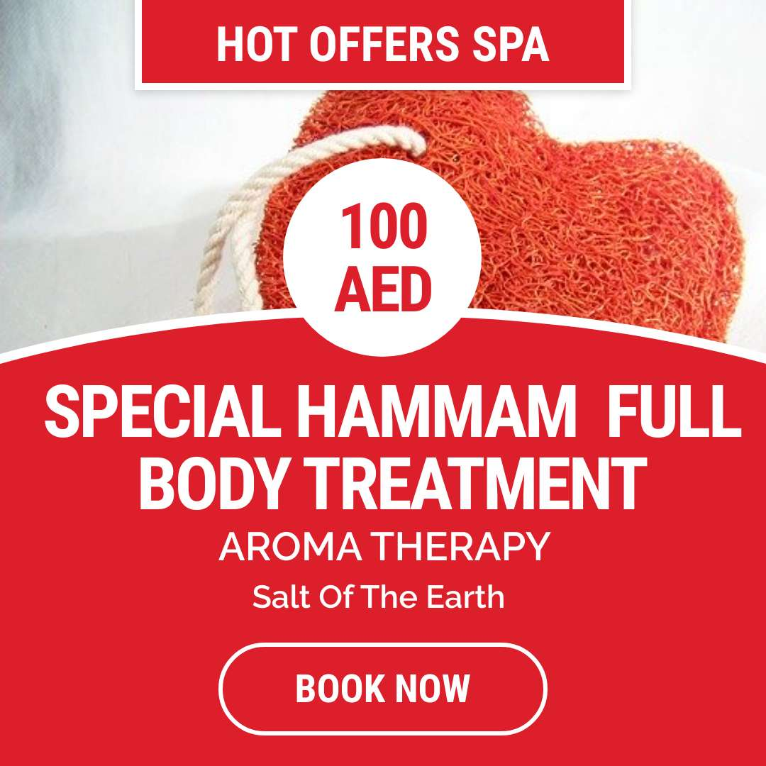 Special hammam full body treatment